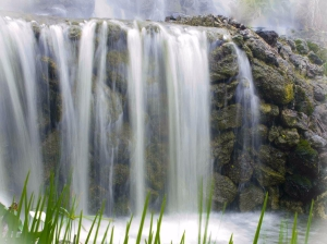 Waterfalls as water features for the garden